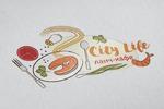 """Логотип для ланч-кафе """"City Life"""""""