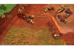 Схема добычи руды