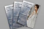 дизайн листовки для Свадебного салона