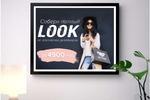 Рекламный банер для магазина одежды