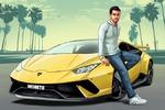 Иллюстрация в стиле GTA5 на заказ