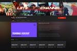Оформление игрового канала Lets play channel