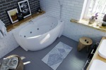 интерьер ванной комнаты 14
