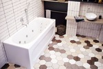 интерьер ванной комнаты 22
