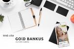 """Сайт-сервис для банка """"GoldBankus"""""""