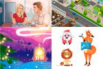 иллюстрации, персонажи, вектор, стикеры, комиксы