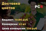 Доставка цветов РСЯ
