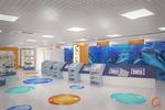 Москвариум на ВДНХ входная группа и магазин игрушек  316м2
