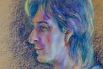 Пастель, крафт-бумага. Портрет по фото