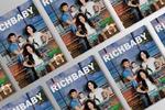 Дизайн и верстка глянцевого журнала RichBaby