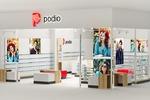 Podio. Архитектурный проект магазина