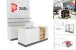 Podio. Разработка торгового оборудования