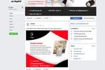 """Оформление группы """"Arlight"""" Facebook"""