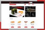 Дизайн интернет-магазина по продаже суши
