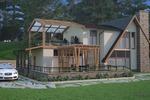 Визуализация экстерьера загородного дома