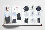 Разворот каталога детской одежды