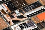 Серия рекламных SMM баннеров для фотостудии