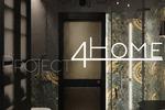 Дизайн-проект дома площадью 600 кв.м. (санузел гостевой)