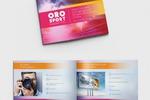 альбом-презентация для маркетингового агентства в сфере спорта