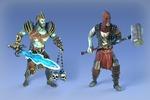 3D персонажи и анимации для DOTA-образной игры