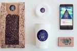 Логотип, фирменный стиль и приложение для кофейни