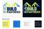 Логотип и Фирменный стиль для строительной компании