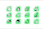 логосет для клининговой компании
