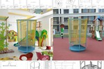 Conceptual solution carousel for children