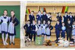 Фотокнига школьная - разворот 2 (фотоколлаж)