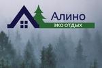 """Логотип для базы отдыха """"Алино"""""""