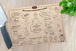 Дизайн детского меню в ресторане