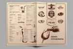 Верстка меню для ресторана