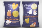 Дизайн упаковки для сырных чипсов