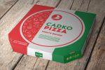 "Коробка для пиццы пиццерии ""Садко Пицца"""