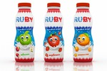 """Дизайн упаковки для йогуртов """"RUBY"""""""