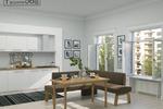 Визуализация модели дивана и кухни