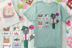 Дизайн принта на футболки