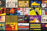 20 мини-плакатов в разных стилистиках