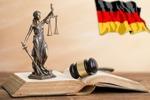 Постановление о привлечении на немецкий
