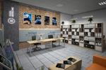 3d визуализация офисного пространства
