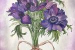 по уроку акварельные цветы