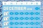 Календарь в стиле пиксель-арт