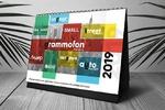 Календарь для рекламного агентства в Казахстане