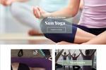 Дизайн сайта магазина одежды для Йоги