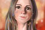 Портрет аватар девушки
