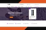 EXTREM LIFE - Дизайн главной страницы интернет-магазина