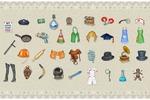Тематические предметы для одной из игр ( по сути, те же иконки)