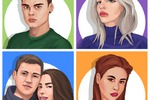 Стилизованные портреты блогеров для ВК ( оформление постов)