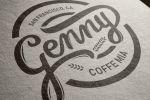 Логотип для кофейни – каллиграфия
