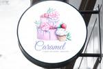 """Логотип для студии авторских десертов """"Caramel"""""""